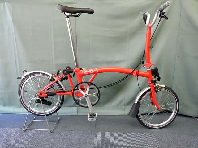 2017 brompton m2l red/red