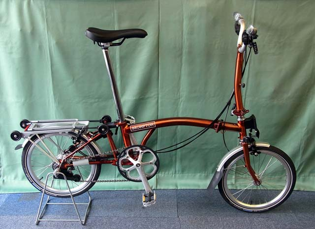 2019 BROMPTON M6R FLAME Lacquer 特別