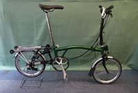 brompton m6r green black