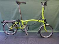 brompton m6r lime green